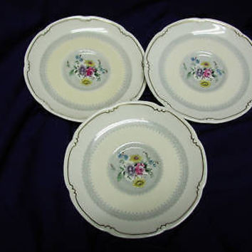 Royal Doulton, China Dinnerware #V1865  Burnham (3) saucer