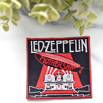 Led Zepplin Iron on Music Patch