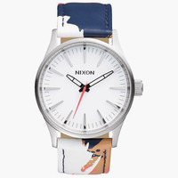 Nixon The Sentry 38 Leather Watch Multi One Size For Men 25973995701