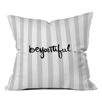 DENY Designs Be-you-tiful Pillow | Nordstrom