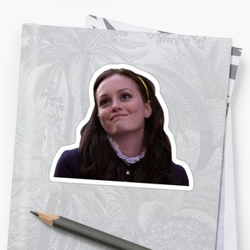 'blair waldorf' Sticker by emad14