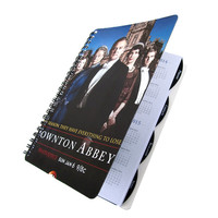 Downton Abbey 2013 2014 Daily Planner / Calendar UpCycled Lady Crawley Student Academic Agenda