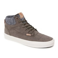 Vans Era Hi Denim Geo Shoes - Mens Shoes - Blue