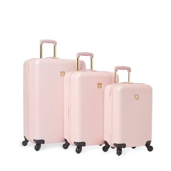 Anne Klein Aurora 3-piece Hardside Spinner Luggage Set | Overstock.com Shopping - The Best Deals on Three-piece Sets