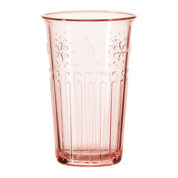 KROKETT Glass, light pink - IKEA