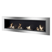 Ignis Accalia - Built-in/Wall Mounted Ethanol Fireplace (WMF-0223)