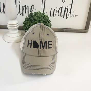 Georgia State hat - Mama Style Hat | Georgia gifts - Georgia Home hat
