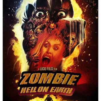 Zombi 3 (Danish) 11x17 Movie Poster (1986)