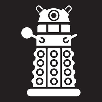 Doctor Who DALEK Tablet Decal Sticker Laptop cover Macbook Pro Apple Wall Design Decal Keyboard Design Decal Sticker Vinyl Decal