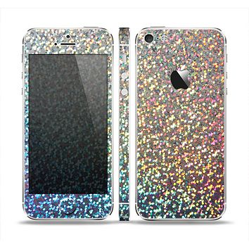 The Colorful Confetti Glitter Sparkle Skin Set for the Apple iPhone 5