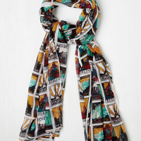 Urban This Too Shall Passport Scarf by ModCloth