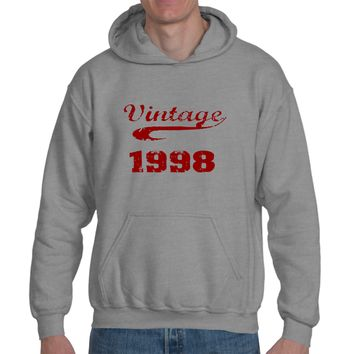 VINTAGE 1998 Heavy Blend™ Fleece Hoodie | Underground Statements