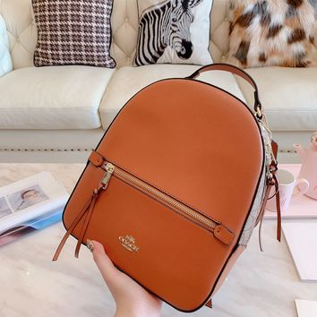 HCXX 19Oct 210 Coach Fashion Classic Casual Backpack 30-25cm