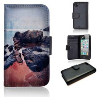 Castles In The Sand | wallet case | iPhone 4/4s 5 5s 5c 6 6+ case | samsung galaxy s3 s4 s5 s6 case |