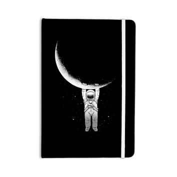 "Digital Carbine ""Help!"" Black White Everything Notebook"