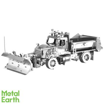 Metal Earth 3D Laser Cut Model Kit Freightliners - 114SD Snow Plow