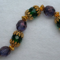 Valewyn Purple and Green Tristian Realms Bracelet