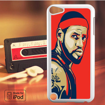 Lebron James Cleveland Fan ARt iPod Touch 4 5 6 Case Cover