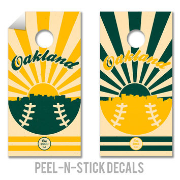 Oakland Athletics Decals