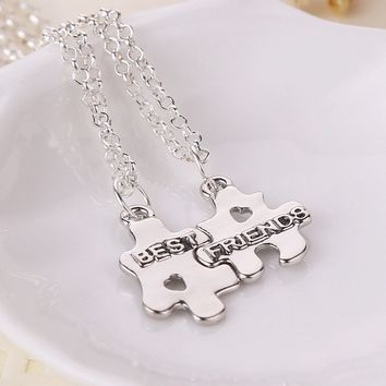 Free Shipping Best Friend Set Necklace--YX-XL-017