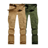 Casual Multi Pocket Cargo Pants