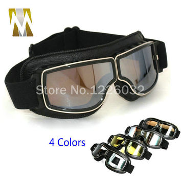 Brand New Cool Scooter Motocross Goggle Glasses Motorcycle Cycling Goggles Cruiser Steampunk ATV Bicycle Eyewear Glasses