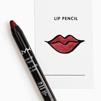 NYX Lip Pencil - Maroon