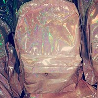 SWEET LORD O'MIGHTY! Mermaid Hologram Backpack
