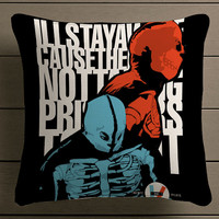 twenty one pilots poster Square Pillow Case Custom Zippered Pillow Case one side and two side