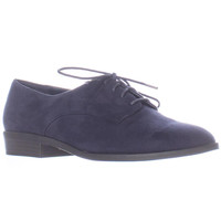 bar III Gelsey Lace Up Oxfords - Navy