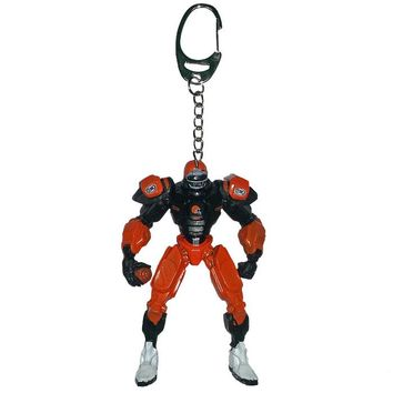 Cleveland Browns Keychain Fox Robot 3 Inch Mini Cleats
