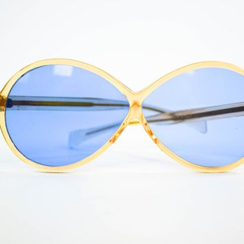 Vintage Sunglasses - Made in Italy - 1980 Sunglasses - Hipster Glasses - Gift for her - Mom Gift - Fashionista Gift
