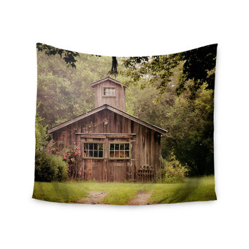 "Angie Turner ""Shabby Chic Barn"" - Nature Photography Wall Tapestry"