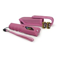 Pink ZAP Stick Stun Gun 800,000 Volts w/ LED Flashlight