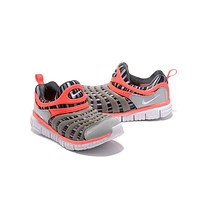 NIKE DYNAMO FOR KID Color Grey&Orange Running Shoes