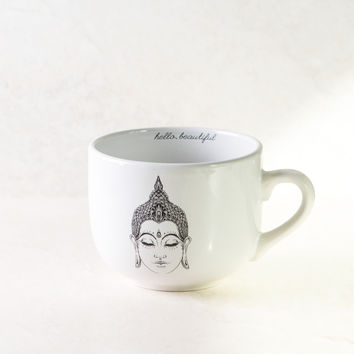 Buddha White Coffee Mug