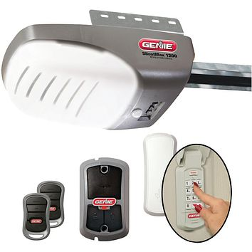 Genie Garage Door Opener With 3 And 4+ Hpc Dc Chain