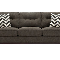 Cindy Crawford Home Hadly Gray Sofa
