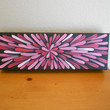 Painting Pink Red Flower Aboriginal Inspired by Acires on Etsy