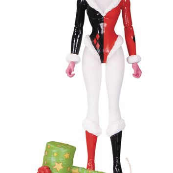 DC Comics Designer Series Holiday Harley Quinn by Amanda Conner Action Figure
