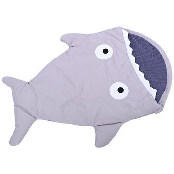 7 Colors Baby Sleeping Bag Soft Cotton Thick Blanket Winter Sweet Cartoon Shark Babies Newborn Infant Kids Sleeping Bags Gifts