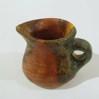 Ceramic pitcher, pottery, handmade, throwing