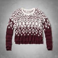 Micah Shine Fair Isle Sweater