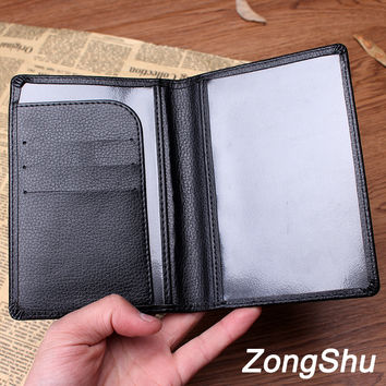 Hot Sales Passport Holder Cover Quality PU Leather ID Card Travel Ticket Pouch Fashion Brand Passport Covers Passport Bag Case
