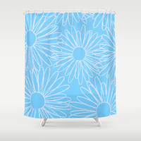 Daisy Shower Curtain by Ashley Hillman