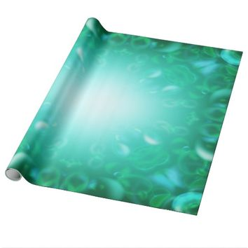 Glow Bubble Wrapping Paper