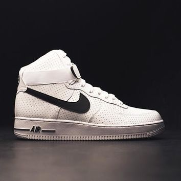 qiyif NIKE - Men - Air Force 1 High - White/Black