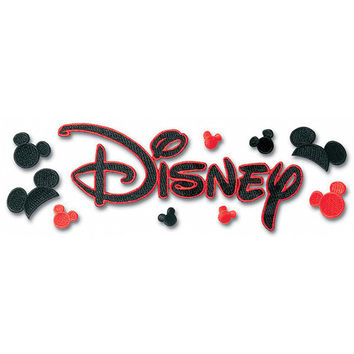 Disney Embroidered Sticker - Disney Title