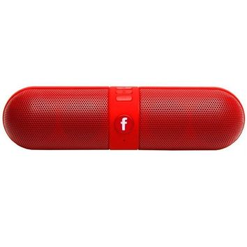 F6 Outdoor Portable China Mini Desktop Beat Stereo Wireless Pill bluetooth speaker