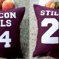 Teen Wolf Lacrosse Pillow by PopGoesTheSun on Etsy